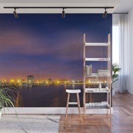 Gulfport Harbor before Sunrise Wall Mural