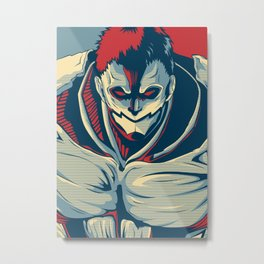 Armored Titan - Warrior Metal Print
