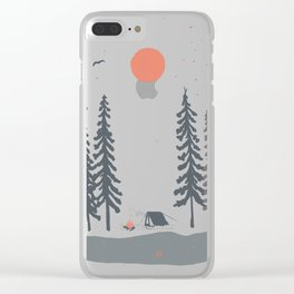 Feeling Small in the Morning... Clear iPhone Case