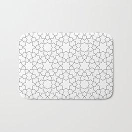 Minimalist Geometric 101 Bath Mat