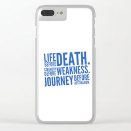 First Ideal Clear iPhone Case