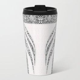 Jean flowers and arabesques Travel Mug