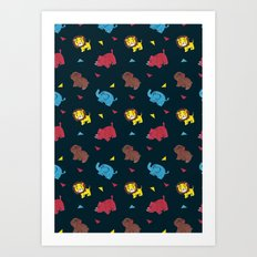 The Zoo Art Print