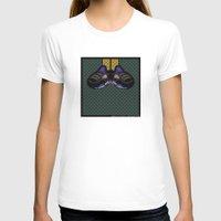 air jordan T-shirts featuring AIR JORDAN 5 BLACK by originalitypieces