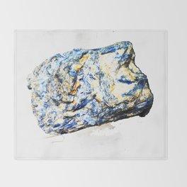 Kyanite crystall Gemstone Throw Blanket