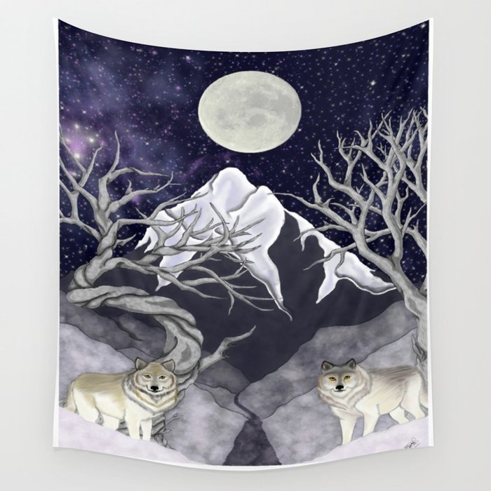 Guardians Wall Tapestry