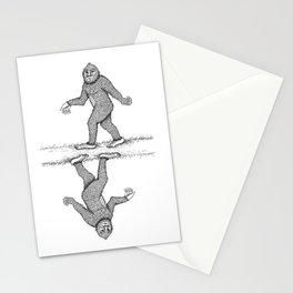 Sad-squatch Stationery Cards