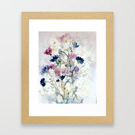 Meadow with Cornflowers Framed Art Print