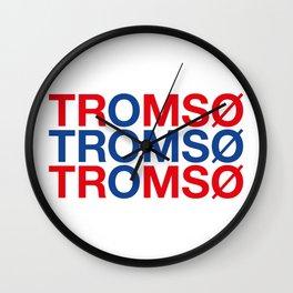 TROMSO Wall Clock