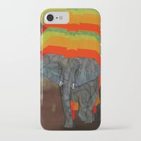 african iPhone & iPod Cases featuring African Elephant by Ben Geiger