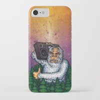 eddie vedder iPhone & iPod Cases featuring eddie by Sam Buchanan