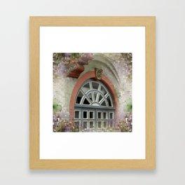 window -2- Framed Art Print