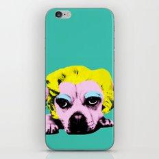 Puppy Marilyn iPhone & iPod Skin