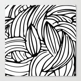 Wawes Canvas Print