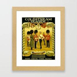Vintage British Poster Framed Art Print