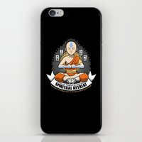 spiritual iPhone & iPod Skins featuring Spiritual Retreat by adho1982