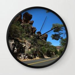 Scenic Bonita Canyon Road Wall Clock
