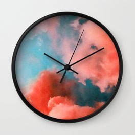 An Epic Sky Above Wall Clock