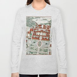 STANFORD CALIFORNIA University map Long Sleeve T-shirt
