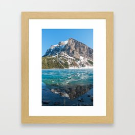 Canada, Banff: Lake Louise Framed Art Print