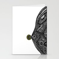 the vampire diaries Stationery Cards featuring PacMan Diaries by Lauren Moore