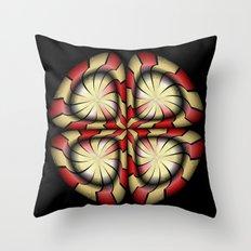 Circle Study No. 485 Throw Pillow