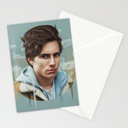 OCEAN EYES Stationery Cards
