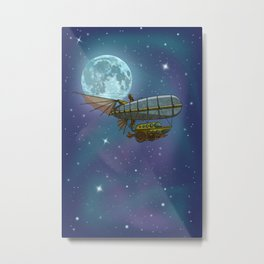 Stellar Exploration Metal Print