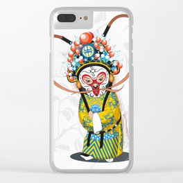 Beijing Opera Character   Monkey King Clear iPhone Case