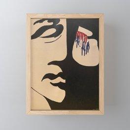 Patriotic Tears Framed Mini Art Print