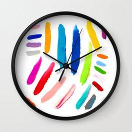 Emile Pattern Wall Clock