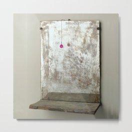 Looking in Mirror by Annalisa Ramodino Metal Print