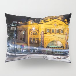 Flinders Street Station Pillow Sham