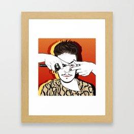 POP UN GUI ANDALOU Framed Art Print