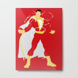 Billy Batson Metal Print