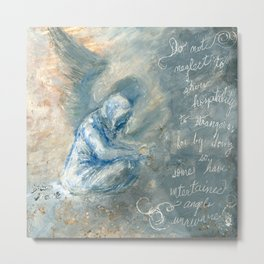Angels Unaware Metal Print