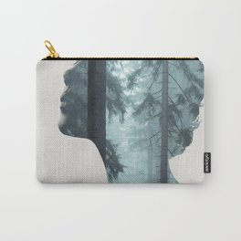 Silence of the Nature Carry-All Pouch