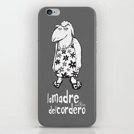 LA MADRE DEL CORDERO (aka THE LAMB'S MOTHER) iPhone Skin