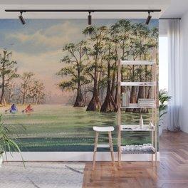 Suwannee River Florida Canoeing Wall Mural