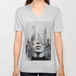 Welcome to my dreams... Unisex V-Neck