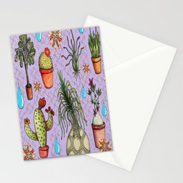 Botanical Sketches of Some Favorites  Stationery Cards