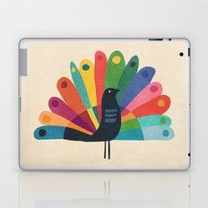 Whimsical Peacok Laptop & iPad Skin