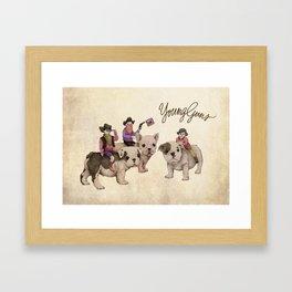 Young Guns Framed Art Print