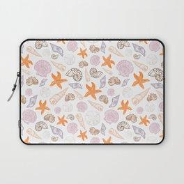 Seashell Print Laptop Sleeve