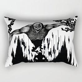 The Monster Within Rectangular Pillow