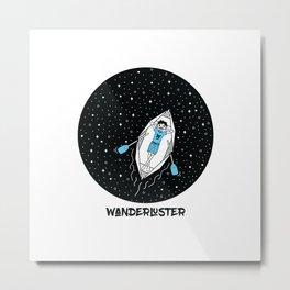 Wanderluster Metal Print