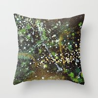 camo Throw Pillows featuring Camo by Art Book Of  Amanda