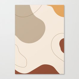 Threads of destiny - Modern abstract art Canvas Print