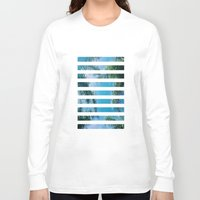 palm trees Long Sleeve T-shirts featuring PALM TREES by C O R N E L L