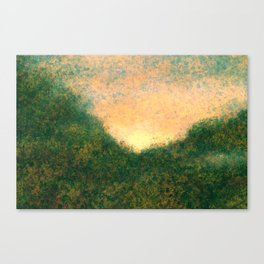 Uneasiness For Deep Canvas Print